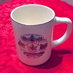 Vintage Victoria.B.C Canada souvenir mug,22 K gold